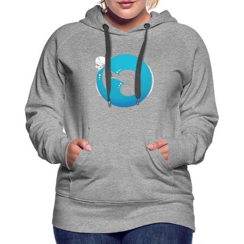Logo iG | Team Esport - Sweat-shirt à capuche Premium pour femmes