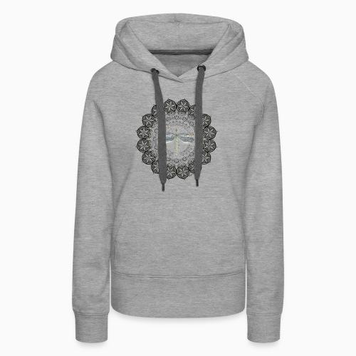 mandala 06.12.18 - Sweat-shirt à capuche Premium pour femmes