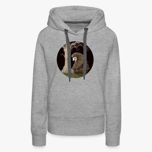 Hérisson du renouveau - Sweat-shirt à capuche Premium pour femmes
