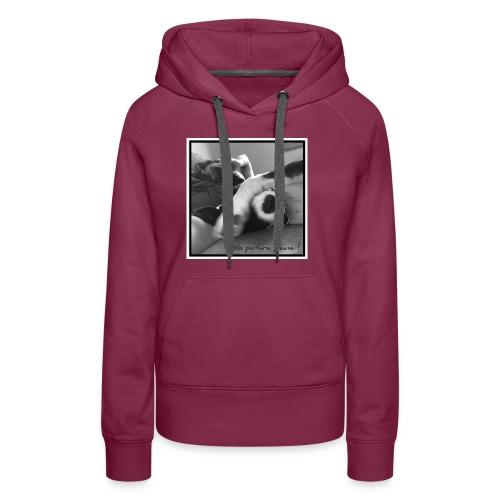 Pleasenopicture - Sweat-shirt à capuche Premium pour femmes