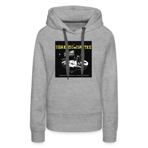 Un breizhonaute - Sweat-shirt à capuche Premium pour femmes