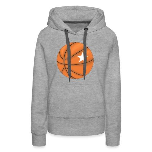 Basketball Star - Vrouwen Premium hoodie