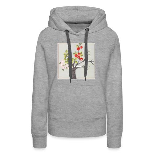 Die vier Jahreszeiten. Frühling bis Winter - Frauen Premium Hoodie