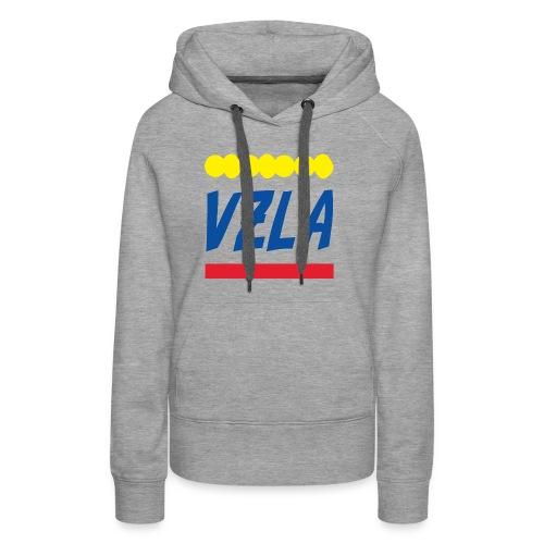 vzla 01 - Sudadera con capucha premium para mujer