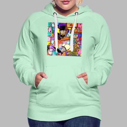 Vunky Vresh Vantastic - Vrouwen Premium hoodie