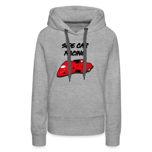 SIDE BASSET F2 - Sweat-shirt à capuche Premium pour femmes