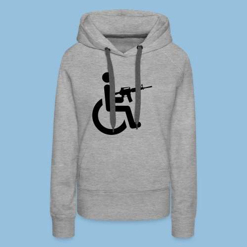 WheelchairM16 - Vrouwen Premium hoodie