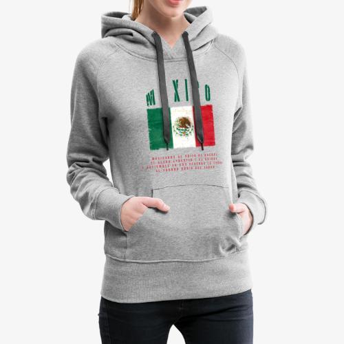 Mexican Flag Bandera Mexico - Frauen Premium Hoodie