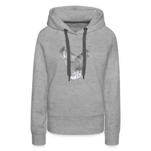 cocorico - Sweat-shirt à capuche Premium pour femmes