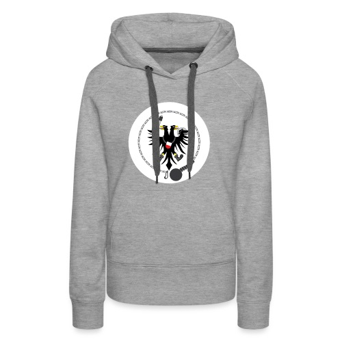 Hanseatic Jugger Logo weiß - Frauen Premium Hoodie