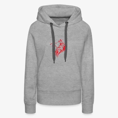 The NoCopyright BassBooster Logo No black - Vrouwen Premium hoodie