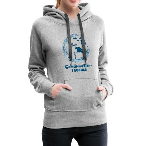 Schönwettertaucher - Frauen Premium Hoodie