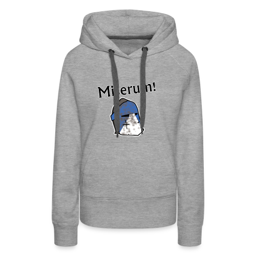 Warden Cytat Miserum! - Bluza damska Premium z kapturem