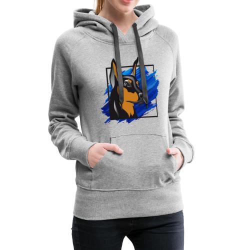 Dobermann - Frauen Premium Hoodie