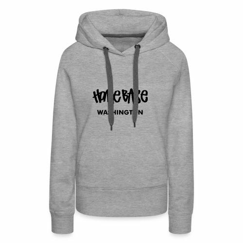 Home City Washington - Frauen Premium Hoodie