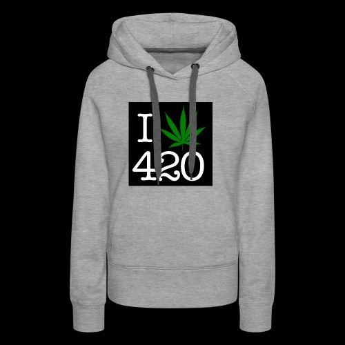 WEED 420 MERCH - Women's Premium Hoodie