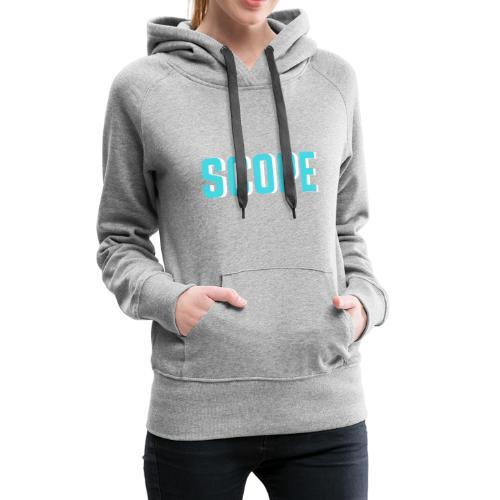 SCOPE BLUE - Vrouwen Premium hoodie
