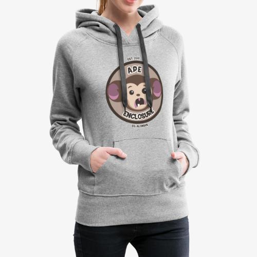 Ape Enclosure Logo - Women's Premium Hoodie