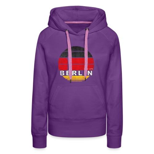 BERLIN, Germany, Deutschland - Women's Premium Hoodie