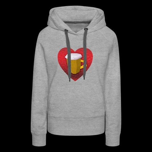 kidfutBeer! - Vrouwen Premium hoodie