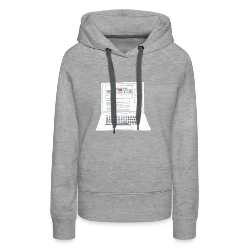 Laptop 20CENT Retail - Sweat-shirt à capuche Premium pour femmes