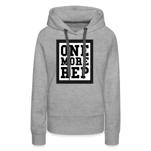 ONE MORE REP - Frauen Premium Hoodie