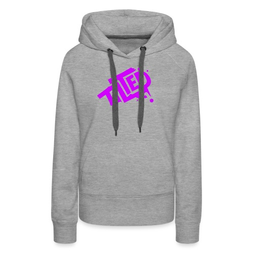 Fortnite Tilted (Pink Logo) - Women's Premium Hoodie