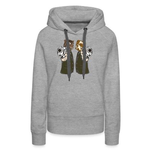 Animal guns - Frauen Premium Hoodie