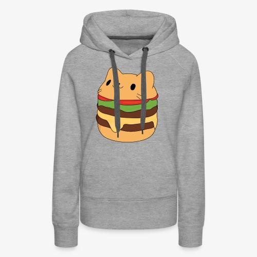 cat burger - Women's Premium Hoodie