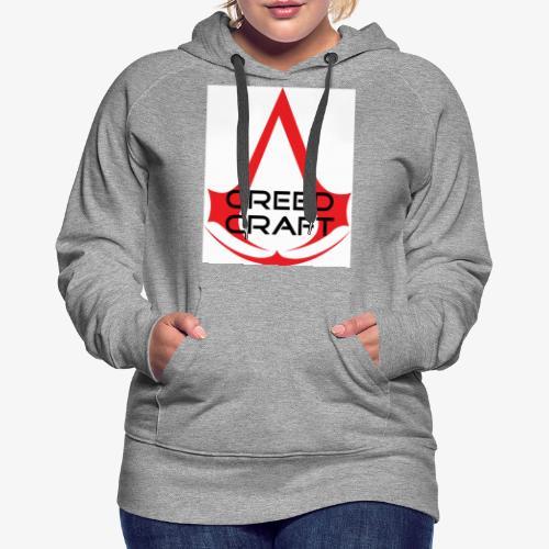 New CreedCraft logo - Women's Premium Hoodie