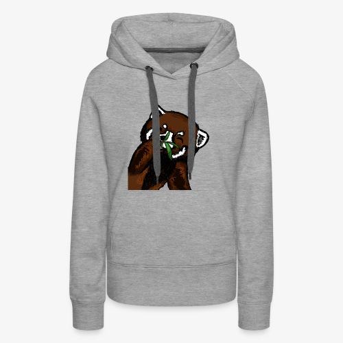 Cute red panda with Bamboo Wildlife T-Shirt - Women's Premium Hoodie