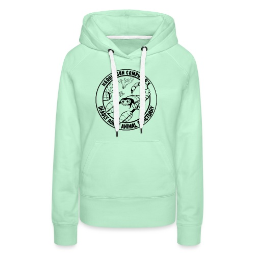 Haroldson Computer's Deadly Robot Animal Sanctuary - Women's Premium Hoodie