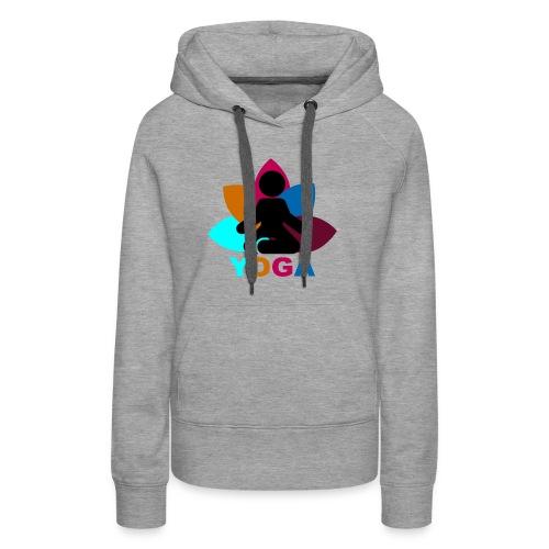 yoga - Women's Premium Hoodie