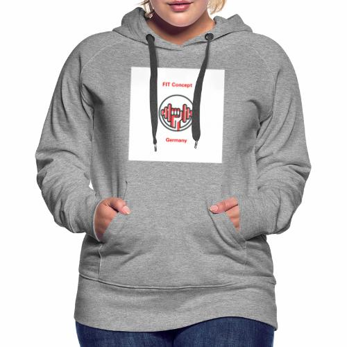 FIT Concept Germany Logo+Beschriftung - Frauen Premium Hoodie