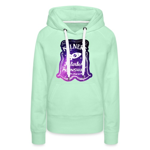 Kilner's Patented Moonshine (Stars) - Women's Premium Hoodie