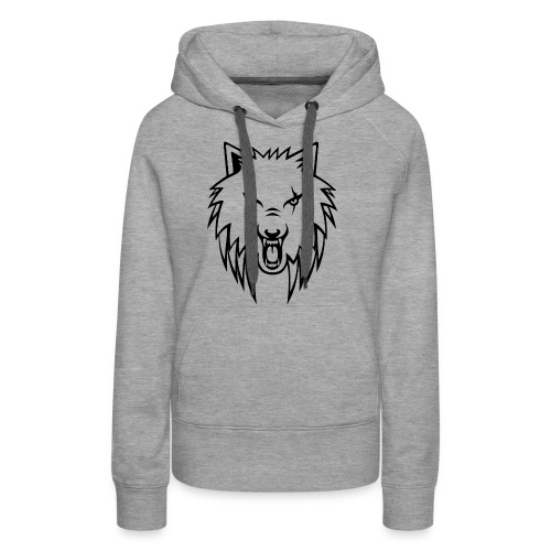 Apollo Wolf Transparent - Women's Premium Hoodie