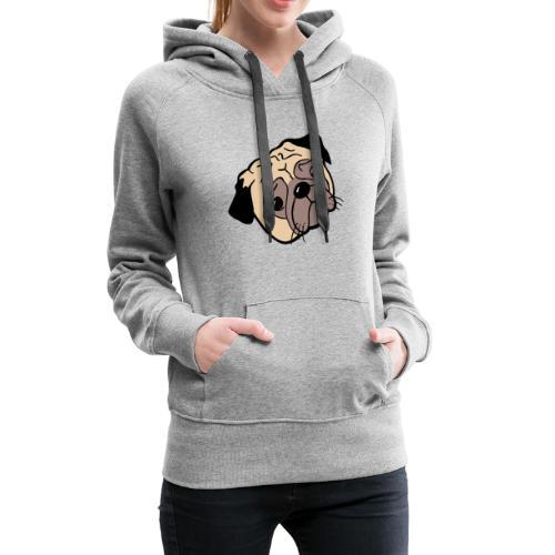 Mops - Frauen Premium Hoodie