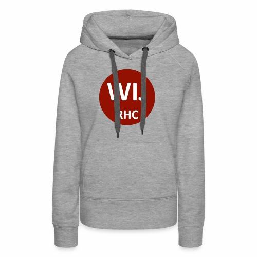 WIJ RHC - Vrouwen Premium hoodie