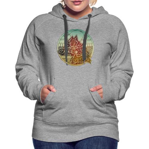 Forest Keeper - Sweat-shirt à capuche Premium pour femmes