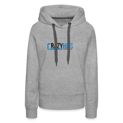 CrazyHIT - Sweat-shirt à capuche Premium pour femmes