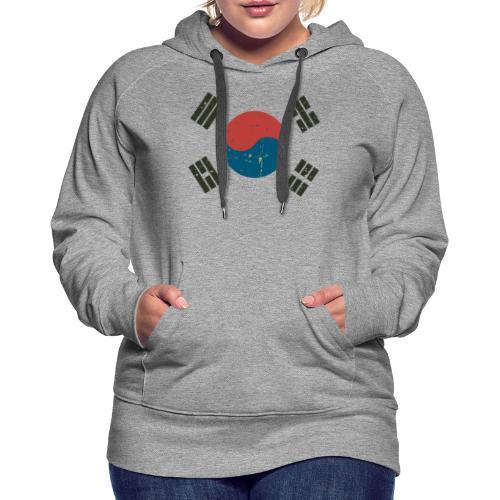 Proud To Be A South Korea. - Women's Premium Hoodie