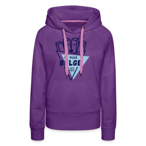 La+Belge - Sweat-shirt à capuche Premium pour femmes