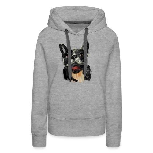 French Bulldog Portrait - lebendig und urban - Frauen Premium Hoodie