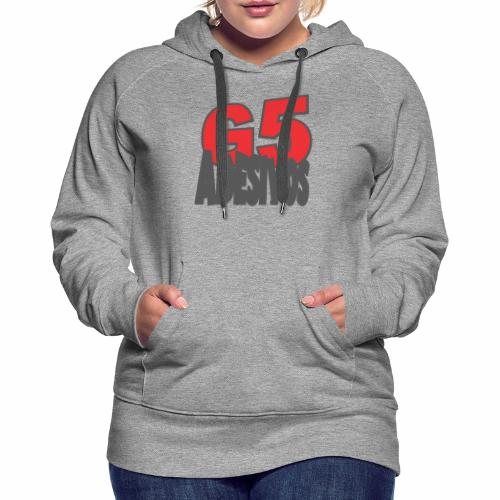 Adesivos cooler Stil - Frauen Premium Hoodie