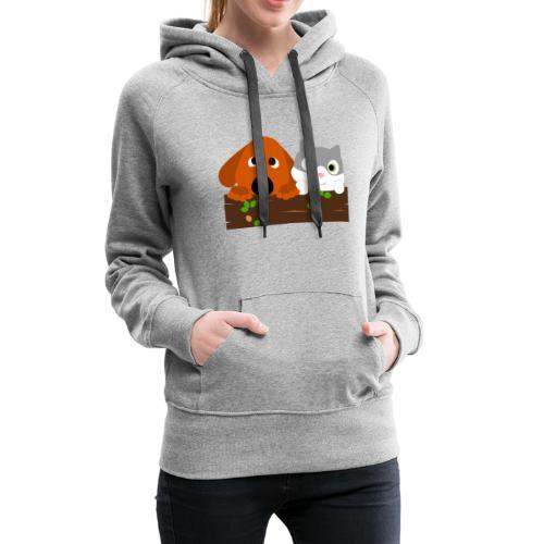 Hund & Katz - Frauen Premium Hoodie