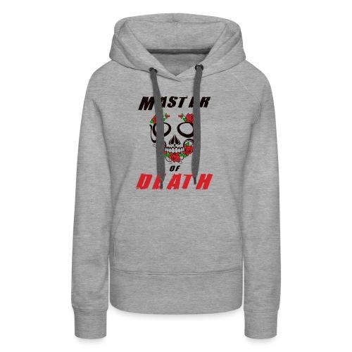 Master of death - black - Bluza damska Premium z kapturem