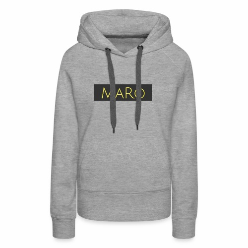 Maro Discret - Sweat-shirt à capuche Premium pour femmes