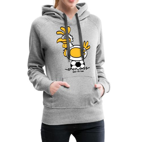 Laying Football Balls - Women's Premium Hoodie