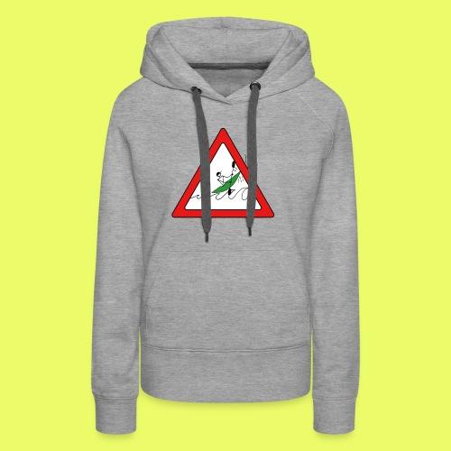 Kajak Unfall im Dreieck - Frauen Premium Hoodie
