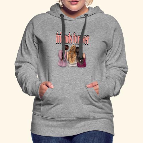 friends forever / vrienden voor altijd - Vrouwen Premium hoodie